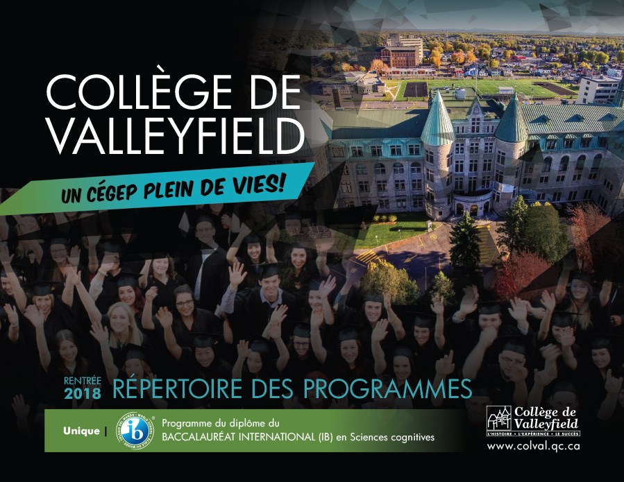 Cegep de Valleyfield Repertoire programmes 2018