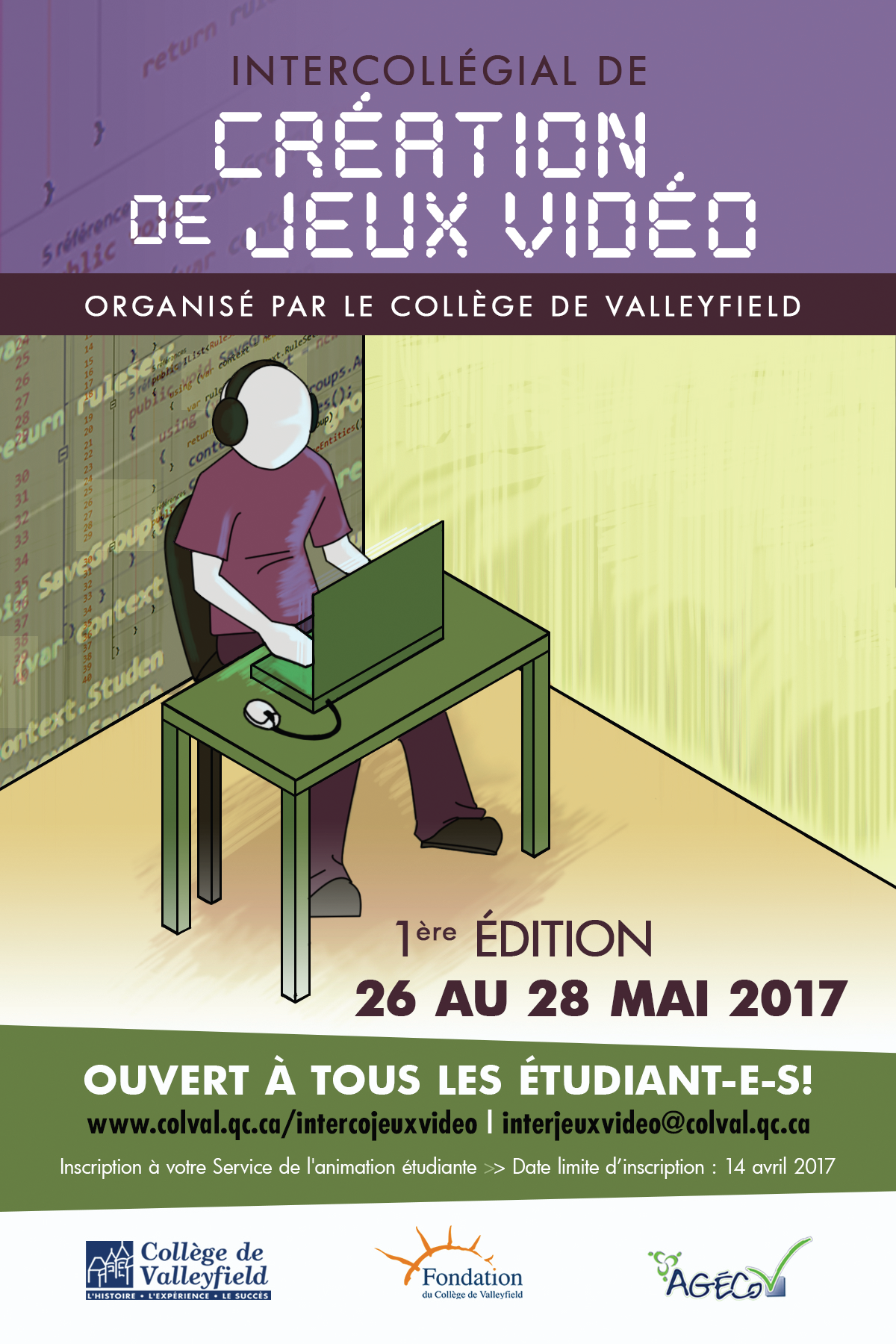 Cegep.valley.interco.jeux.video.2017